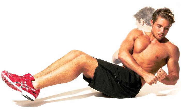 Как убрать бока и живот мужчине: упражнения и питание