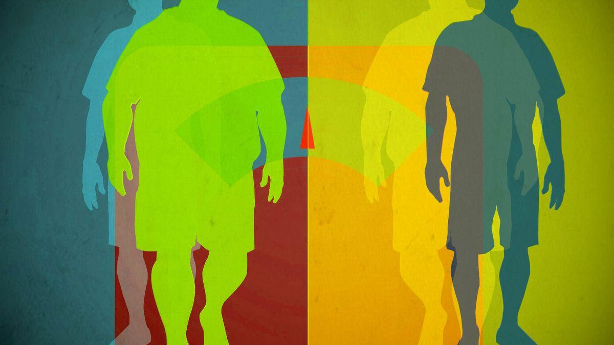 История, как мужчина поправился и похудел на 40 кг