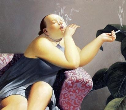 Бросила курить, набрала вес, а потом похудела на 15 кг