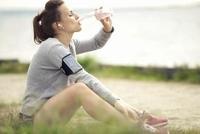 пить воду после бега