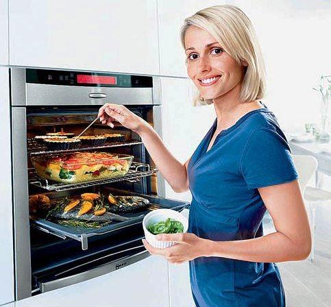 Как готовить полезную еду в духовых шкафах?