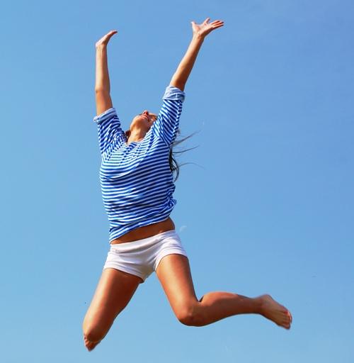 упражнения на домашнем батуте для похудения