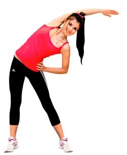 упражнения для похудения фигуры яблоко