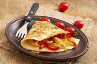 Омлет - вкусный и некалорийный вариант ужина для худеющих