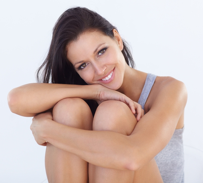 Как убрать жир с коленей — комплекс упражнений
