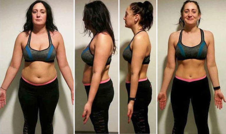 Девушка которая похудела на 13 кг результаты фото