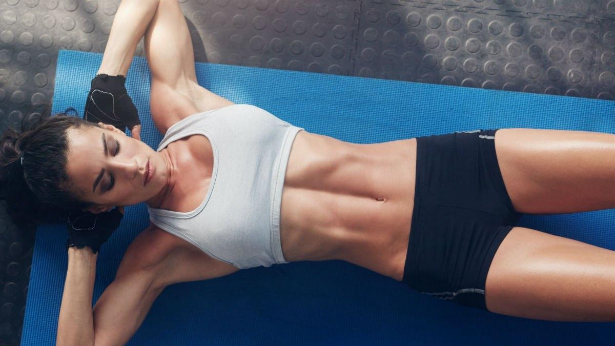 сушка живота для девушек упражнения и питание