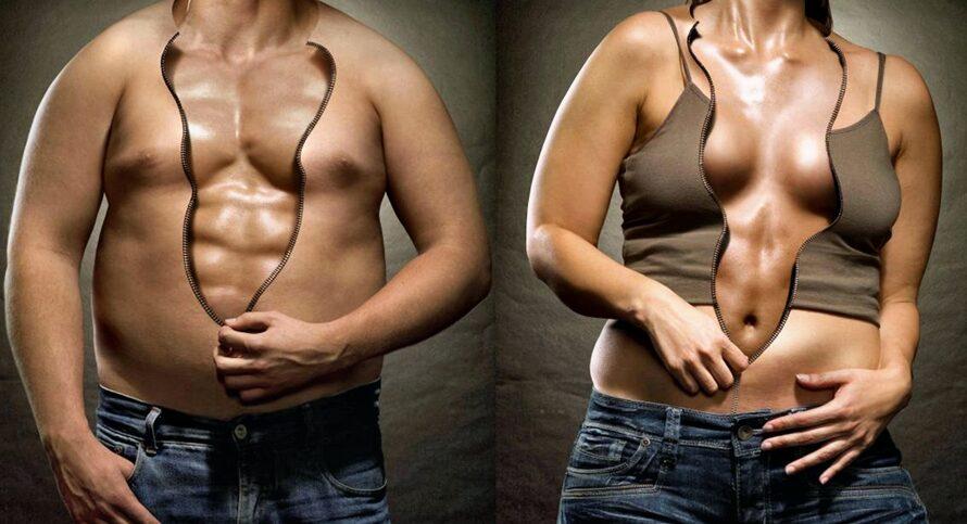 Превращаем жир в мышцы у себя дома: программа питания и тренировок