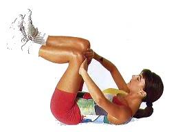 убрать живот упражнение 1