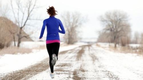 бег зимой на улице для похудения