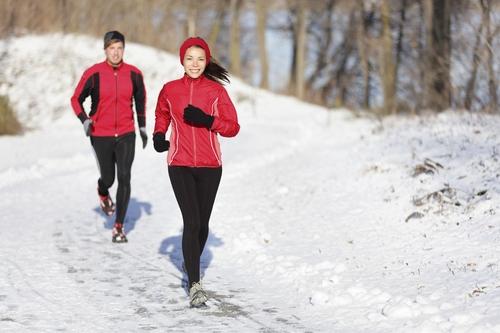 Бег зимой чтобы похудеть