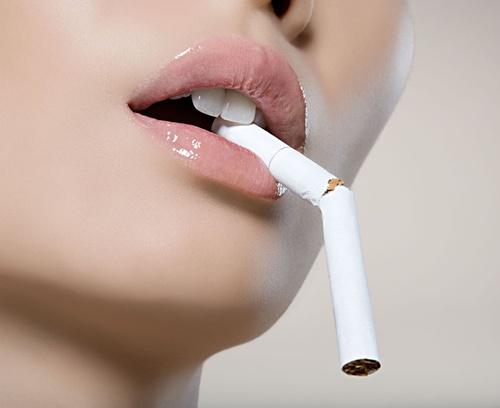 бросила курить и похудела