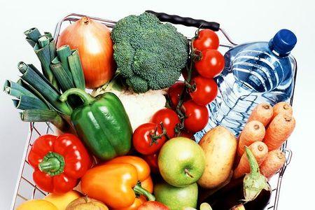 каши фрукты овощи и вода диета