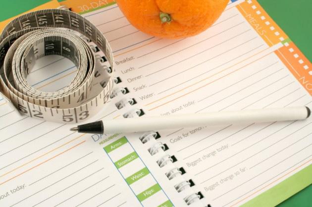 Как вести дневник похудения: примеры