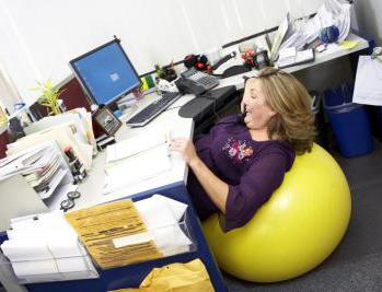Фитнес: зарядка в офисе