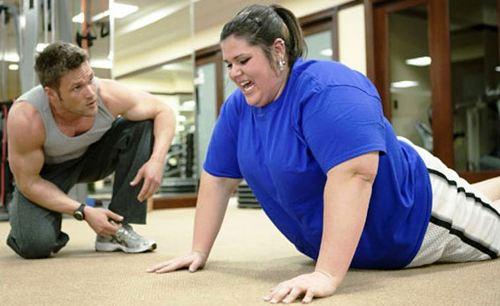 Как похудеть, если ты полная от природы: обратиться к тренеру!