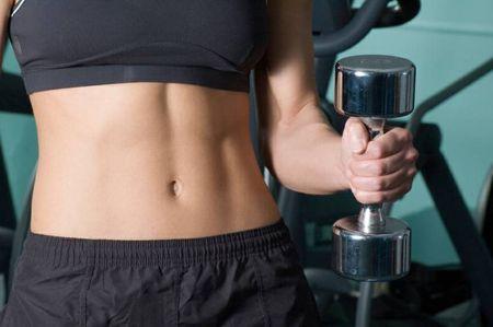 согнать жир с живота женщине