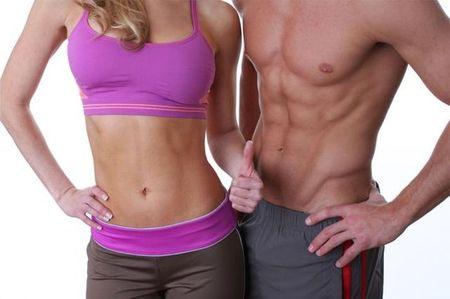 согнать жир с живота мужчине
