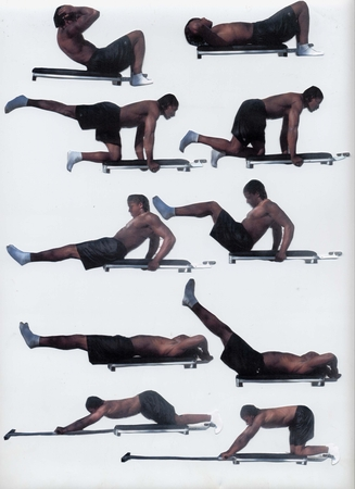 убрать жир с боков женщине видео упражнения