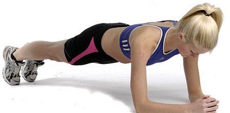 Насколько эффективна планка для похудения?
