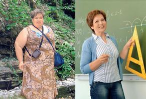 Галина Шмелева: до и после похудения