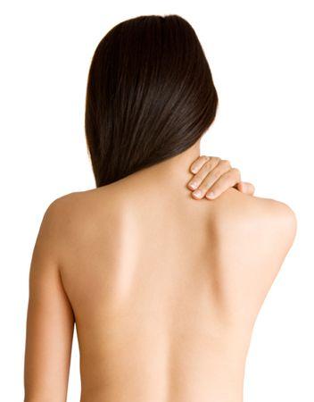 толстая спина