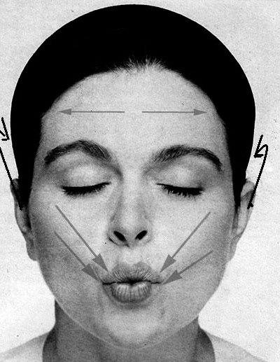 сложить губы трубочкой