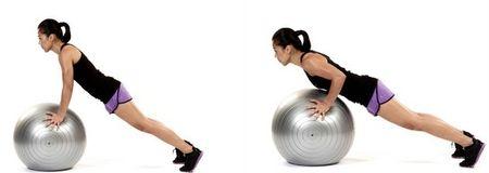 эффективные упражнения с фитболом для похудения
