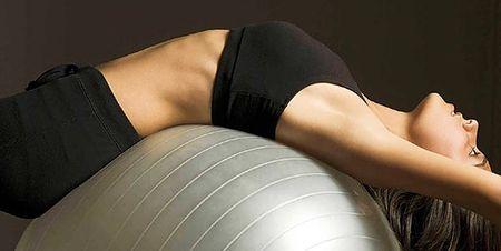 гимнастический мяч для похудения