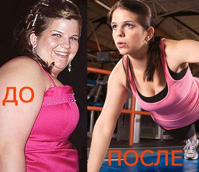 История похудения на 23 кг