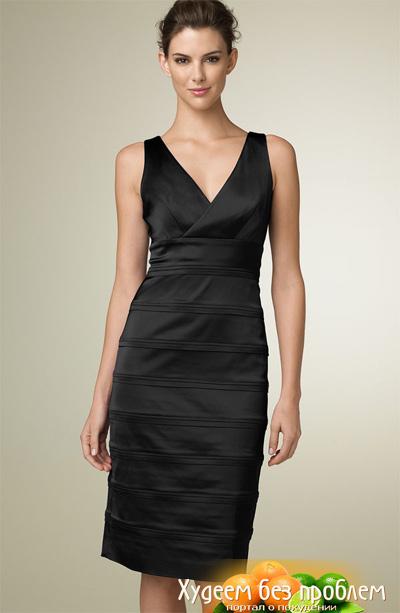 фасоны платьев для худых женщин за.  Автор:Admin.
