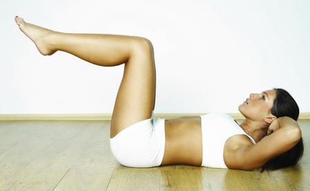 втягивание живота для похудения